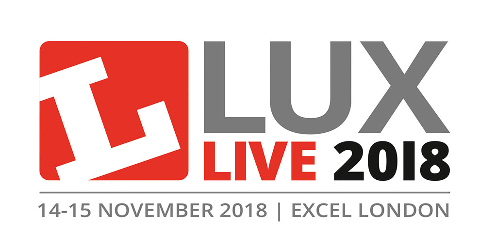 LUX LIVE 2018 – EXCEL, LONDON 14-15 NOVEMBER